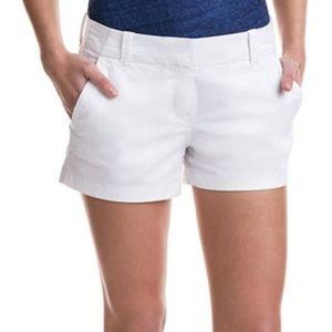 Island Company 100% Linen White Shorts